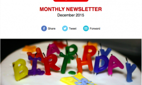 Newsletter December: We are 10 Years Old!