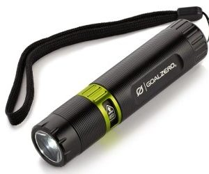Goal Zero Black Flash, flash light, torch light, camping, hiking, trekking
