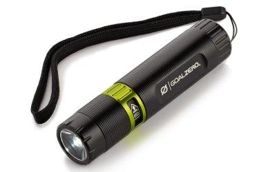 Goal Zero Black Flash, flash light, torch light, camping, hiking, trekking