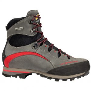 trango trek evo antracite red lente, vibram, hiking boots, shoes, trekking, mountaineering, gore-tex