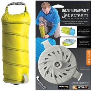 sea to summit, jetstream pump sack, water pump, outdoor, camping