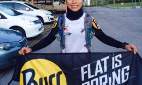 BuffWear® Athlete Yuni Dominates Trails