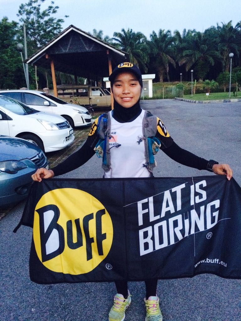 BuffWear® Athlete Yuni Dominates Trails