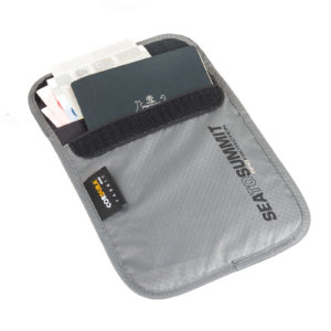 sea to summit passport pouch rfid