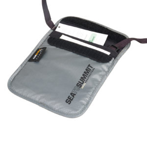 sea to summit, adventure travel, passport pouch, rfid protection