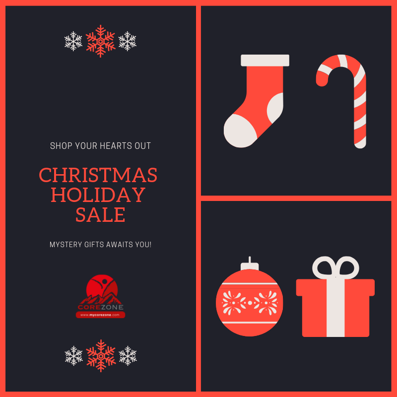 Corezone Newsletter: November 2018 Christmas Gift Ideas | New Product feature | Christmas Specials