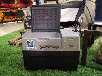 ACOPOWER 30L Outdoor Solar Freezer and Cooler Fridge